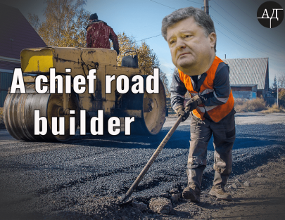 A Chief Road Builder of the State
