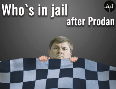 Who's the next to be rolled in a checkered blanket?