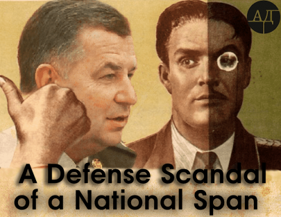A Defense Scandal of a National Span