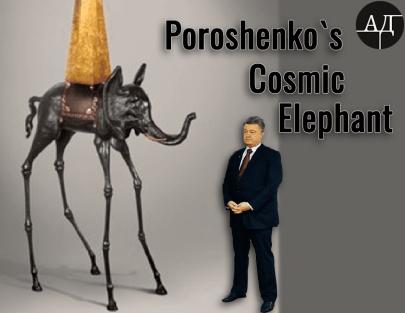 A Little Space Elephant of Poroshenko