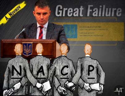 Novikov – 100 days of work failure in NACP