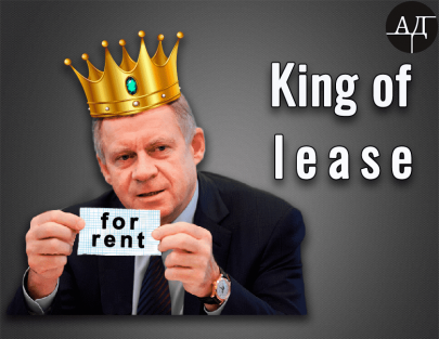 Yakiv Smoliy. Being a King of Lease