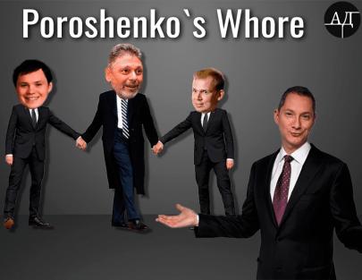 Poroshenko's whore